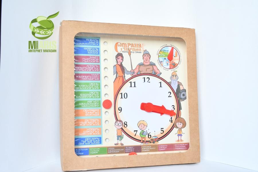 Настольная игра Часы, времена года, дни недели, месяца